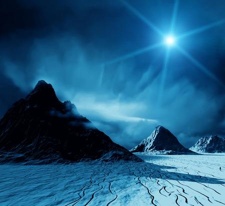 fantasy world: Fantasy landscape