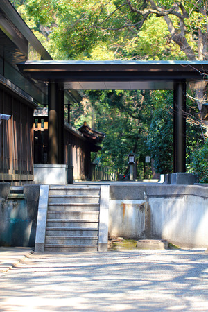 sanctity: Japanese Architecture Stock Photo