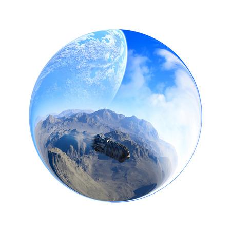 pellucid: UFO Stock Photo