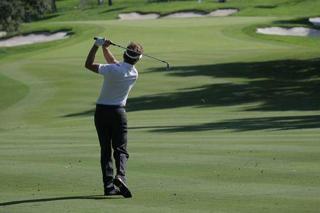 バルデラマでゴルフのスイング
