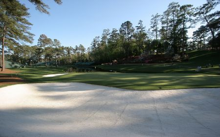 augusta: golf course in augusta, georgia
