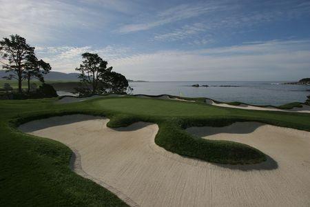 ペブル ビーチ ゴルフ コース、caligornia