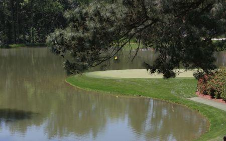 augusta: En el campo de golf augusta, georgia