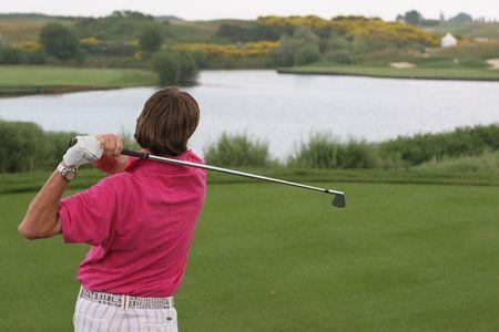 vilamoura: golf swing on albatros course, paris