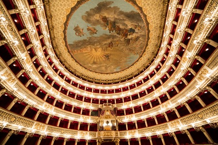 carlo: Teatro San Carlo, Naples opera house, Italy Editorial