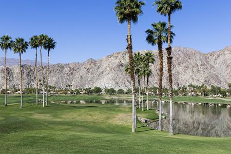 golf of california: PGA West golf course in La Quinta, Palm Springs, California, USA