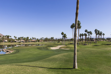 palm springs: PGA West golf course in La Quinta, Palm Springs, California, USA