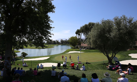 golf of california: Golf course view at the ANA inspiration tournament Editorial
