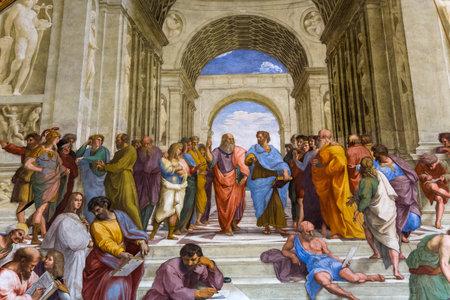 vatican: VATICAN CITY, VATICAN, JUNE 12, 2015 : interiors and architectural details of Raphael rooms in Vatican museum, june 12, 2015, in Vatican city, Vatican Editorial