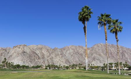 Pga West golf course in La Quinta, Palm Springs, California, usa