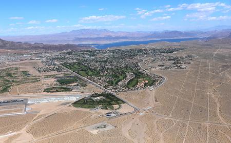 Boulder city aerial Aerial view , Arizona, usa Stock Photo - 125579782