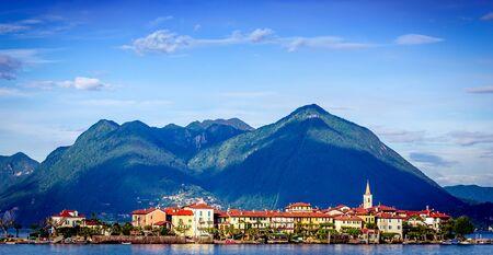 STRESA, ITALY, MAY 25, 2019 : Borromean islands, lake maggiore, may 25, 2019, in Stresa, italy