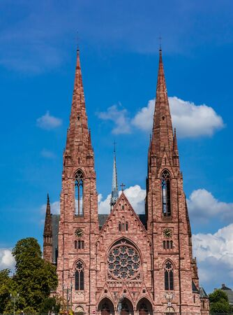exteriors of reformee saint paul church