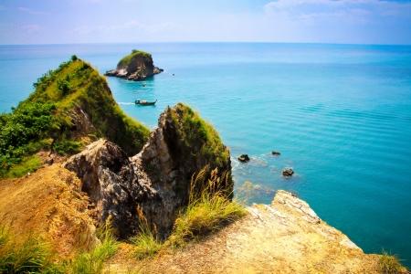 Koh Lanta Sea View Beautiful Stock Photo