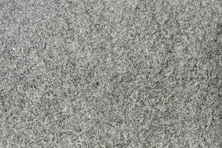 Grey granite rock background showing detail