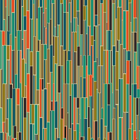 Vector seamless mid century absctract geometric pattern. Polygonal retro design.