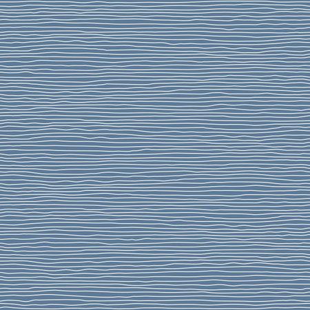 Seamless nautical minimalistic linear blue background pattern. Иллюстрация