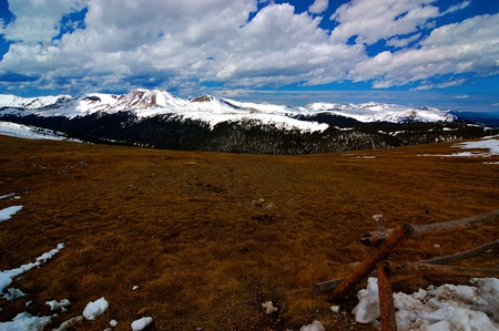 timeless: Nature views of Rocky Mountain National Park, Colorado. Typical views of the area.