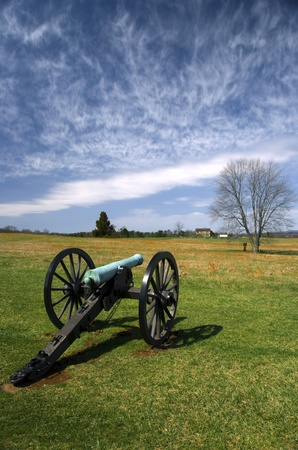 Manassas Battlefield Monument in Virginia photo