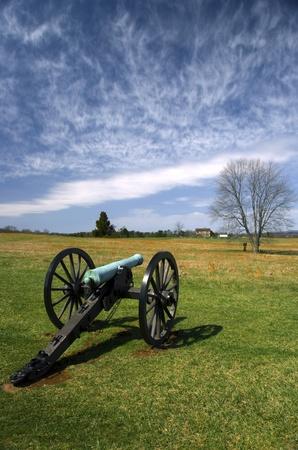 sightsee: Manassas Battlefield Monument in Virginia Stock Photo