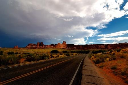 View at Arches National Park, Utah Reklamní fotografie