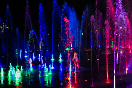 fountains singing music audio visual show in eilat