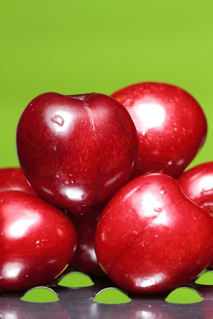 perfect sweet cherries photo