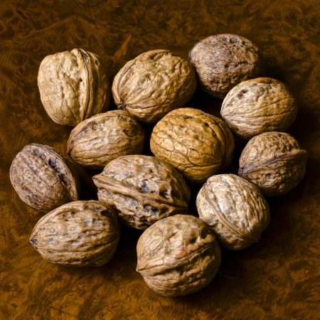 nuts and organic products and traditional photo