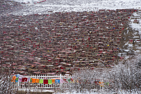 institute is holy: Larung Gar Buddhist Academy, Sichuan, China