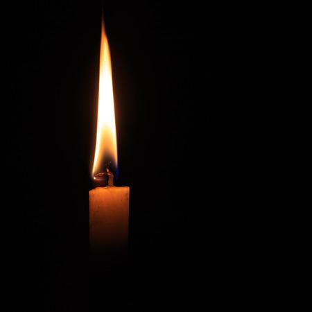 burning candle 免版税图像