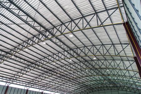 metal sheet roof of indoor stadium
