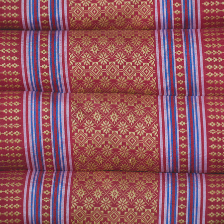 scatter: Close up of thai style scatter cushion texture cover Stock Photo