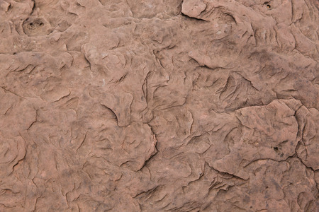 Closeup of a brown stone texture background