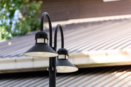 Street lamp, Outdoor lamp 免版税图像