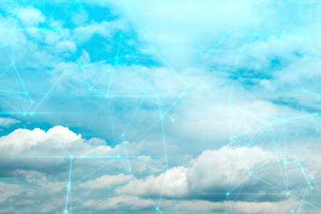 ai cloud storage server online of social network, sky backround nature, technology data deep learning, system of wifi security privacy internet, signal of satellite