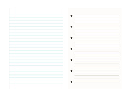 graphing: Notebook Paper Background,Line pattern,Vector illustrations