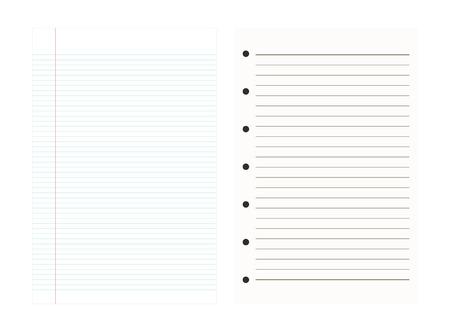 notebook paper background: Notebook Paper Background,Line pattern,Vector illustrations