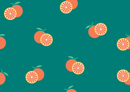 orange cut: Background from the cut orange,Pattern fruits,Vector illustrations Illustration