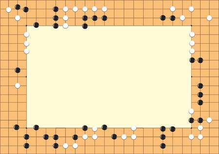 Go game ,Design of funny frame