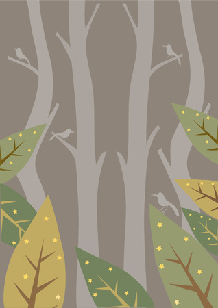 cartoons sweet: Design of nature,forest,Use for backgrounds,Vector illustrations Illustration
