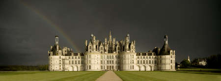 strom: Castle of Chambord Stock Photo