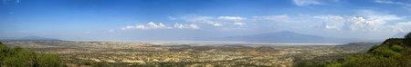 Panoramic landscape ,Tanzania, Africa photo
