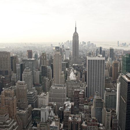 New York City skyline view from Rockefeller Center, New York, USA Stock Photo - 9749561