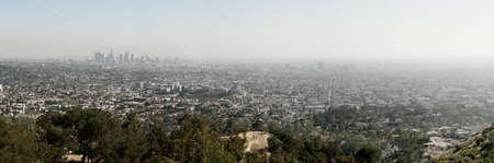 city scape: Los Angeles skyline, California, USA