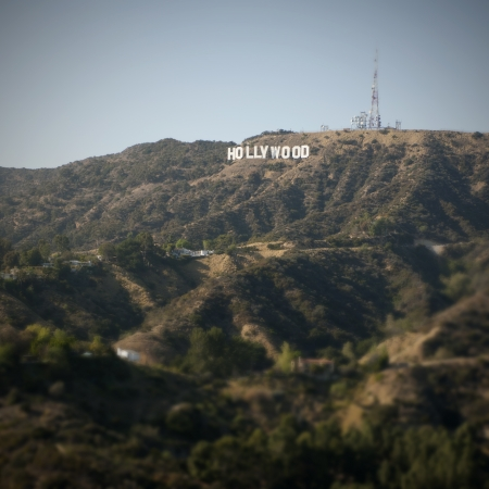 Hollywood sign, Los Angeles, California, USA photo