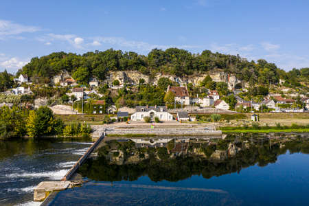 Sluice of Vallagon on the river the Cher