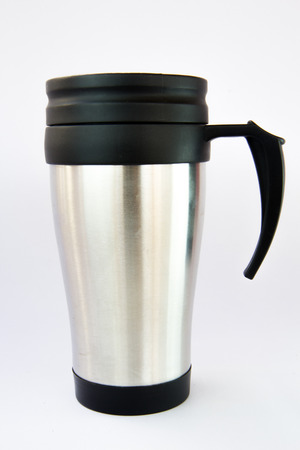 Stainless steel thermal mug  photo