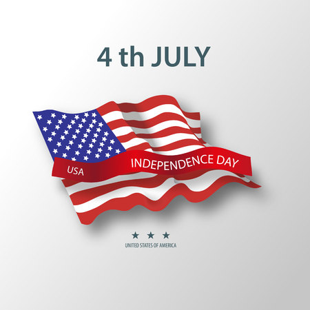 United States of America. 4th of July Independence Day.