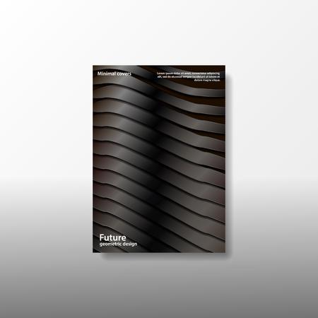 A4 minimal color design. Postcard, flyer, poster, billboard, banner, cover booklet brochure leaflet catalog calendar invitation report background