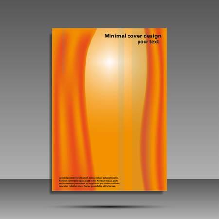 Minimal covers set. Future geometric design. Abstract 3d meshes. Eps10 vector Ilustração